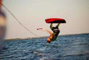Akrobacja wakeboarding