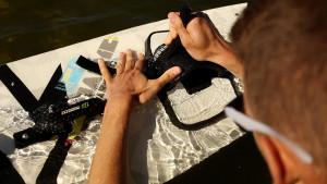 Przygotowania do wakeboardingu