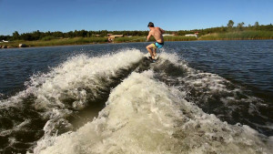 Wakeboarding z Funkite