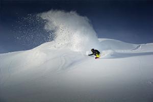 Snowboard w Alpach