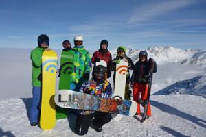 Zespół snowboardowy