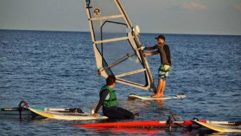 Grupowy kurs windsurfingu